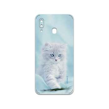 برچسب پوششی ماهوت مدل Cat-1 مناسب برای گوشی موبایل سامسونگ Galaxy A20