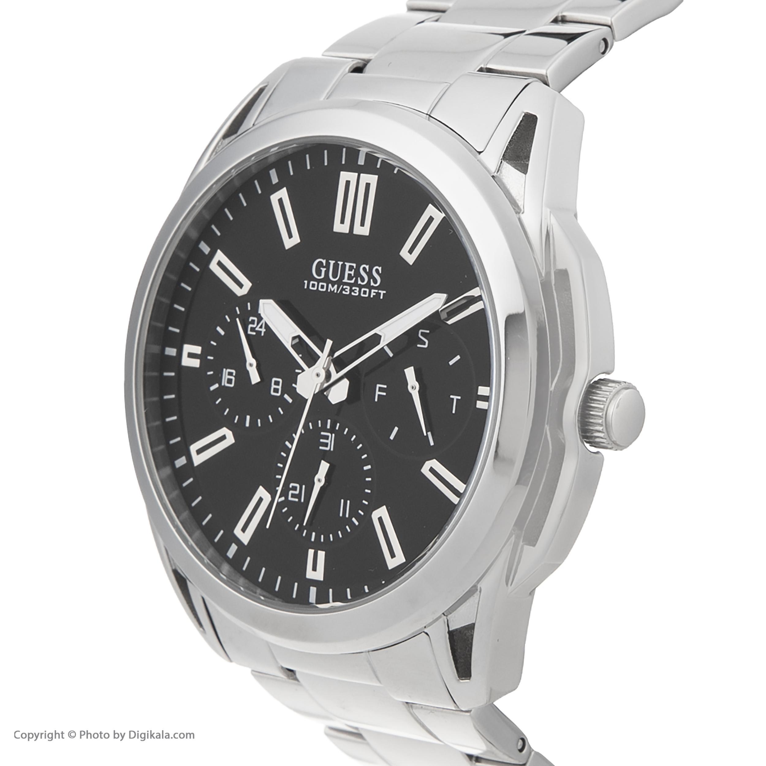 کد تخفیف                                      ساعت مچی عقربه ای مردانه گس مدل W1176G2