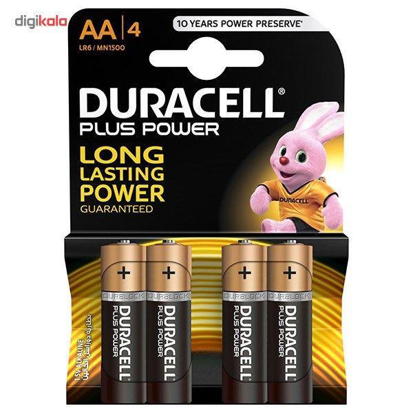 باتری قلمی دوراسل مدل Plus Power بسته 4 عددی main 1 1