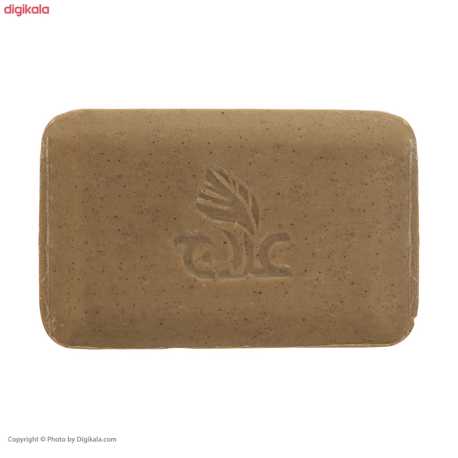 صابون روشن کننده علاج مدل زردچوبه  وزن ۱۰۰ گرم main 1 3