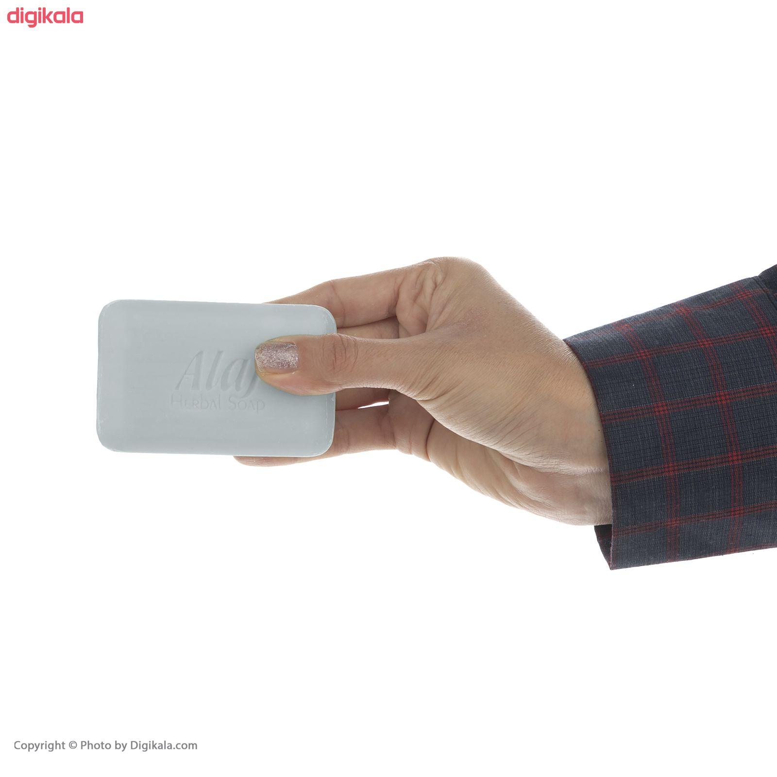 صابون لایه بردار علاج مدل نمک دریایی وزن  ۱۰۰ گرم main 1 6