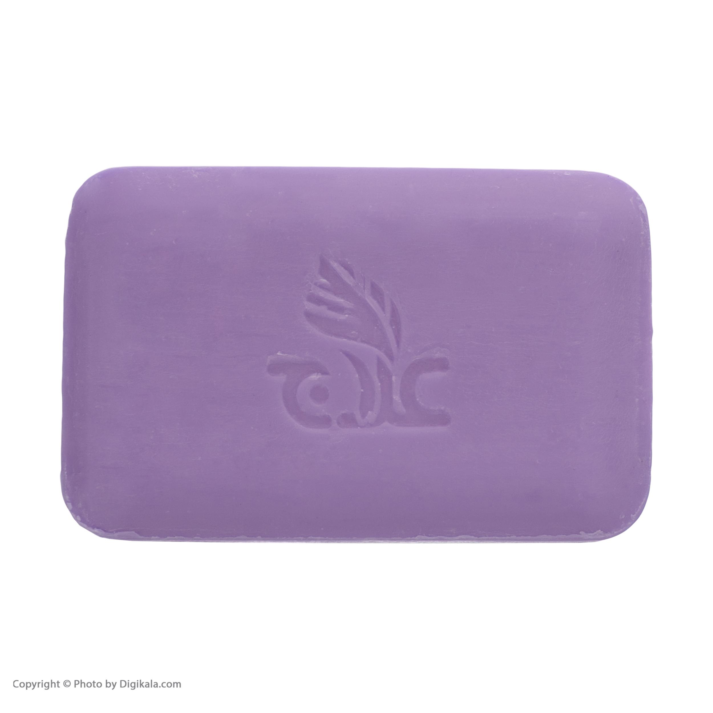 صابون روشن کننده علاج مدل گل ختمی  وزن ۱۰۰ گرم main 1 3