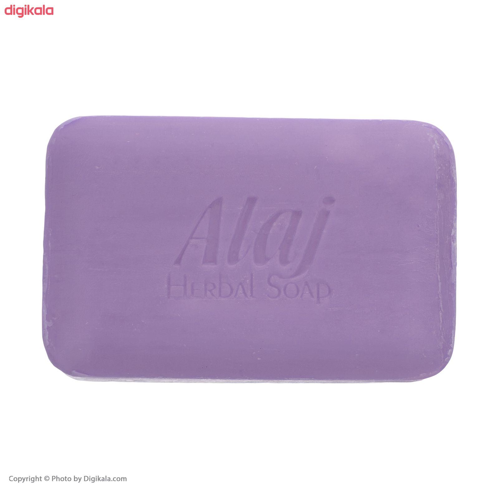 صابون روشن کننده علاج مدل گل ختمی  وزن ۱۰۰ گرم main 1 4