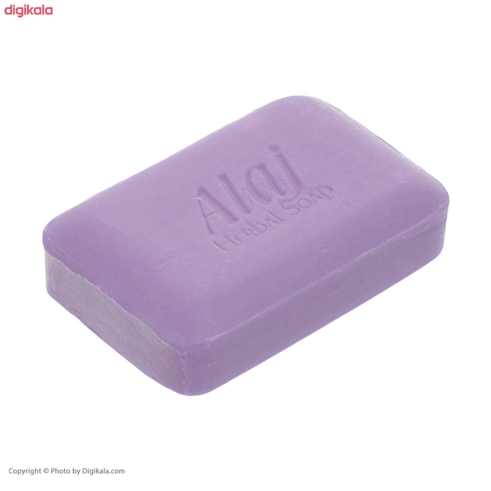 صابون روشن کننده علاج مدل گل ختمی  وزن ۱۰۰ گرم main 1 5