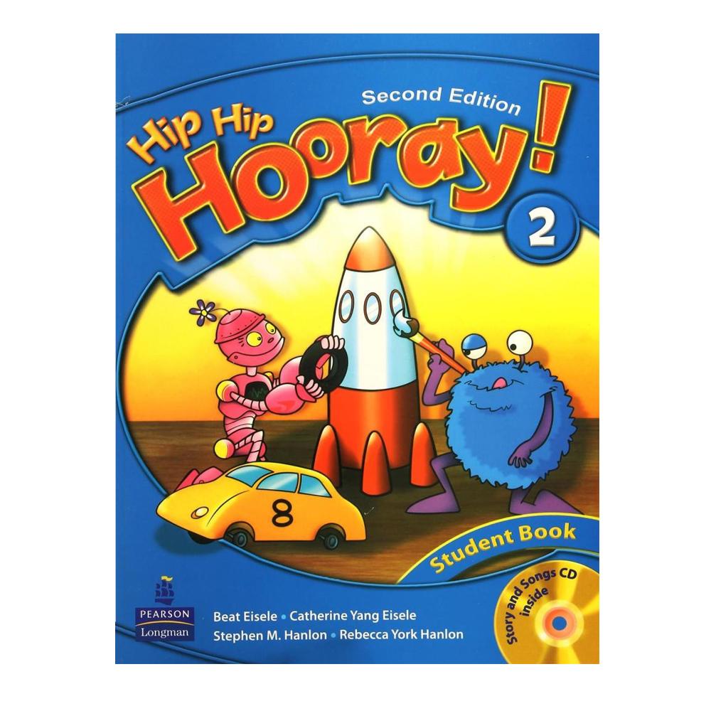 خرید                      کتاب Hip Hip Hooray 2 اثر جمعی از نویسندگان انتشارات Longman