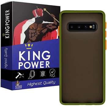 کاور کینگ پاور مدل M21 مناسب برای گوشی موبایل سامسونگ Galaxy S10 Plus