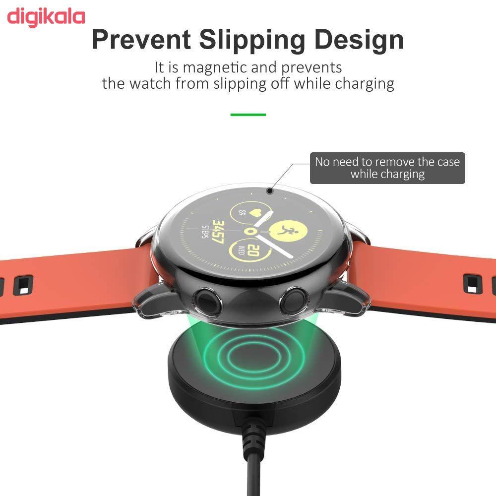 کابل شارژ مدل SWA-002 مناسب برای ساعت هوشمند سامسونگ Galaxy Watch Active 2 main 1 3