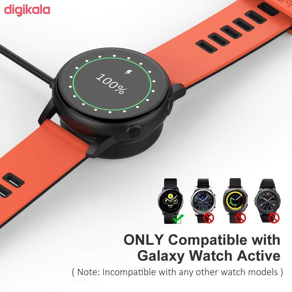 کابل شارژ مدل SWA-002 مناسب برای ساعت هوشمند سامسونگ Galaxy Watch Active 2 main 1 4