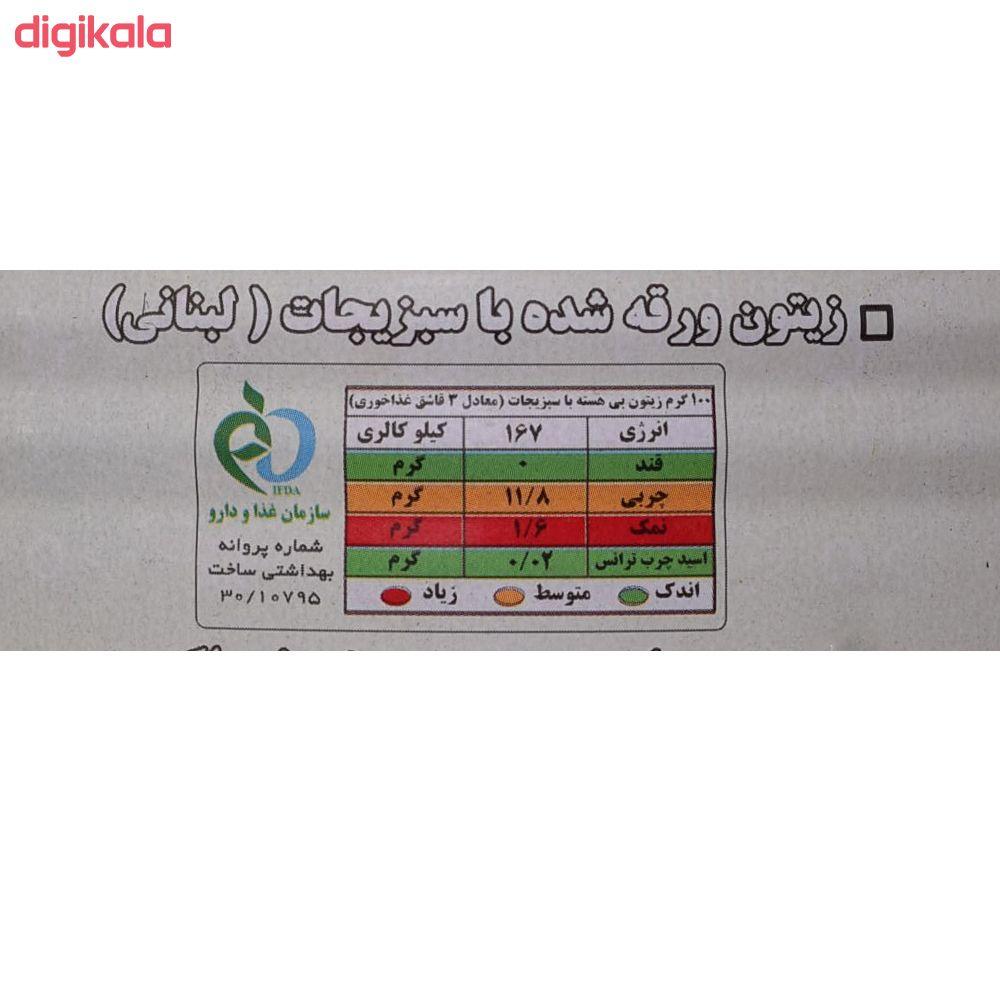 زیتون پرورده لبنانی دلفین - 75 گرم main 1 3