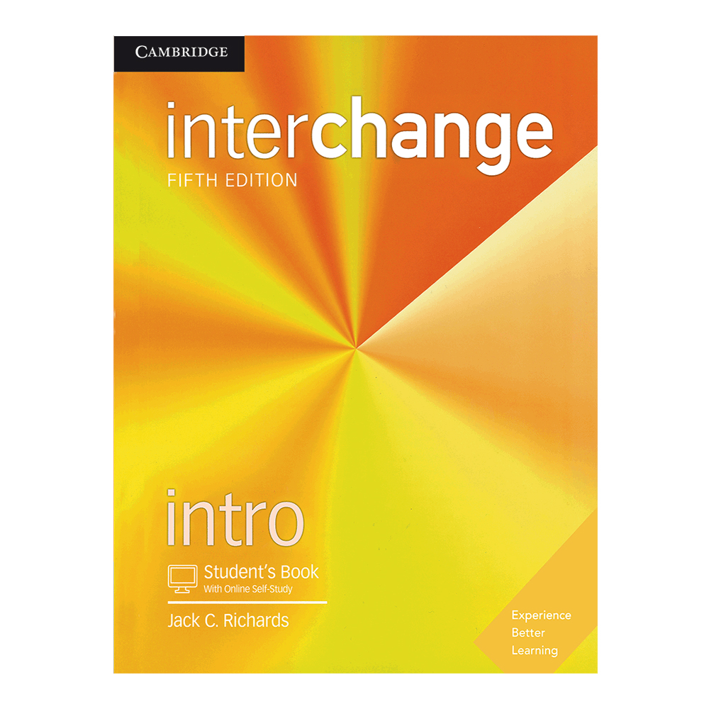 کتاب Interchange Intro اثر Jack C. Richards انتشارات Cambridge