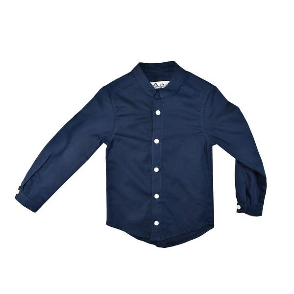 پیراهن آستین بلند پسرانه نیروان کد 10101 -2