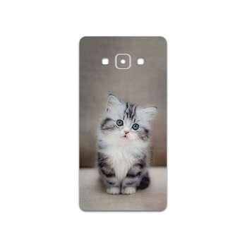 برچسب پوششی ماهوت مدل Cat-2 مناسب برای گوشی موبایل سامسونگ Galaxy A7 2015