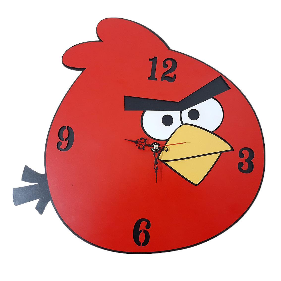 ساعت دیواری اتاق کودک طرح انگری کد 1303