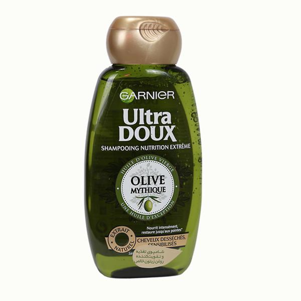شامپوترمیم کننده موهای خشک گارنیه سری Ultra Doux مدل Mythic Olive حجم 250 میلی لیتر