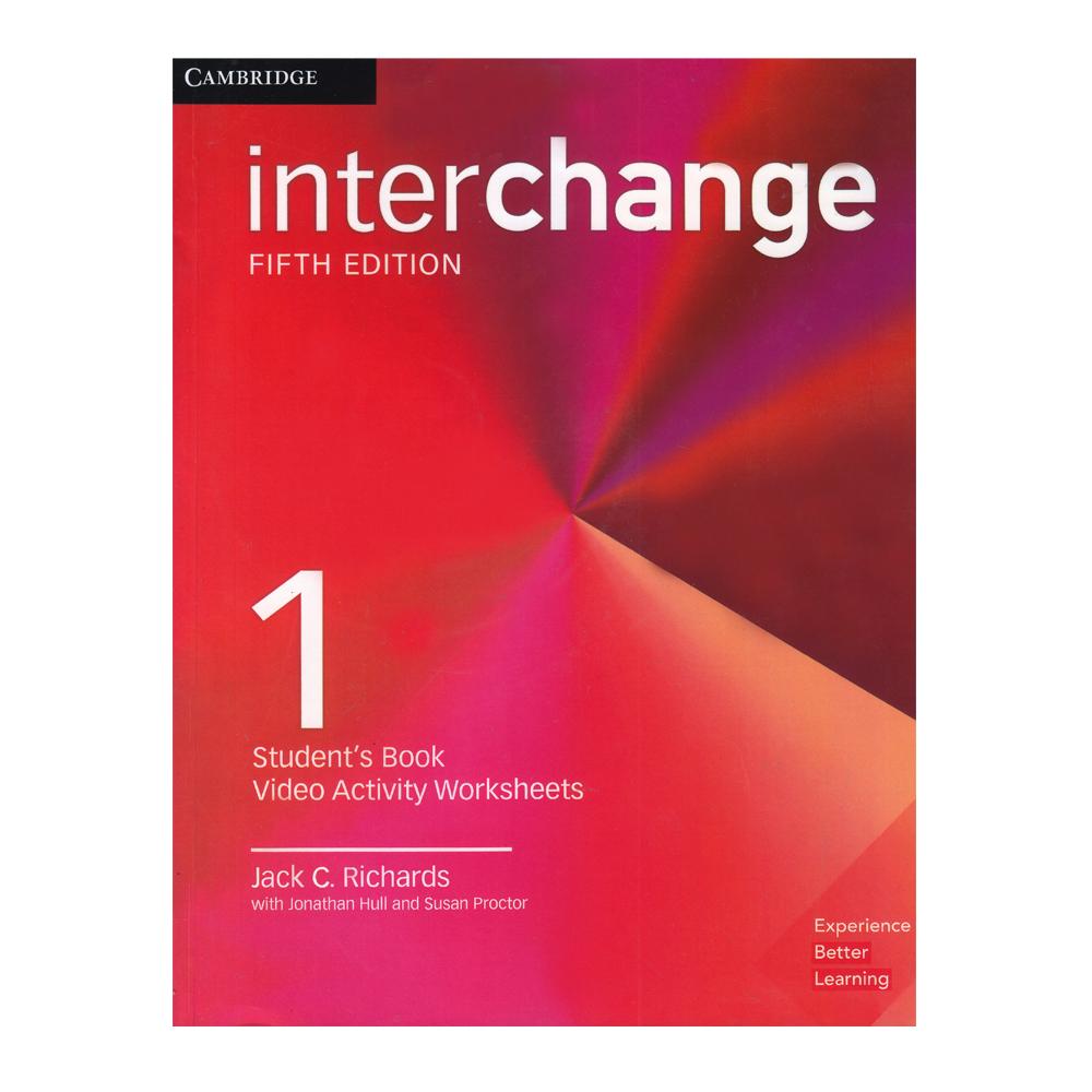 خرید                      کتاب Interchange 1 اثر جمعی از نویسندگان انتشارات Cambridge