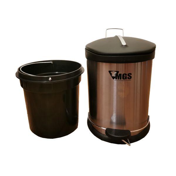 سطل زباله پدالی ام جی اس مدلS05 گنجایش 5 لیتر