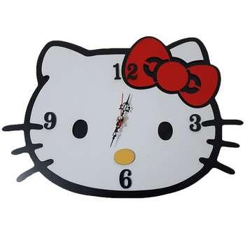 ساعت دیواری اتاق کودک طرح کیتی کد 1307