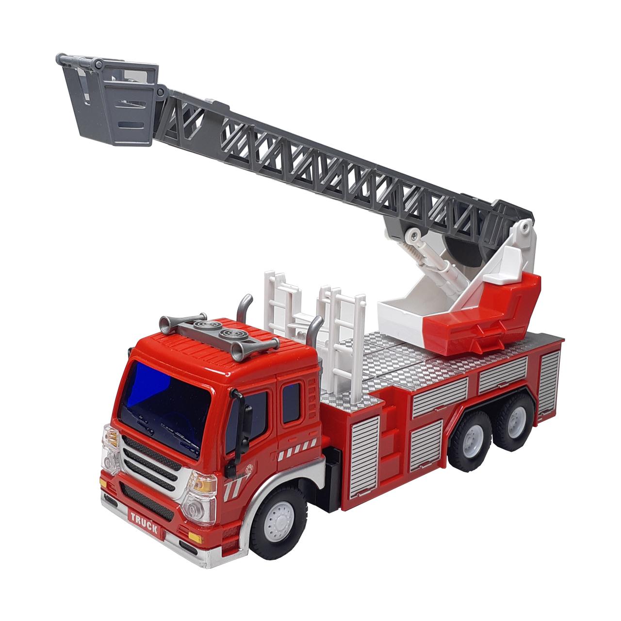 ماشین بازی کنترلی طرح آتشنشانی مدل Trucks
