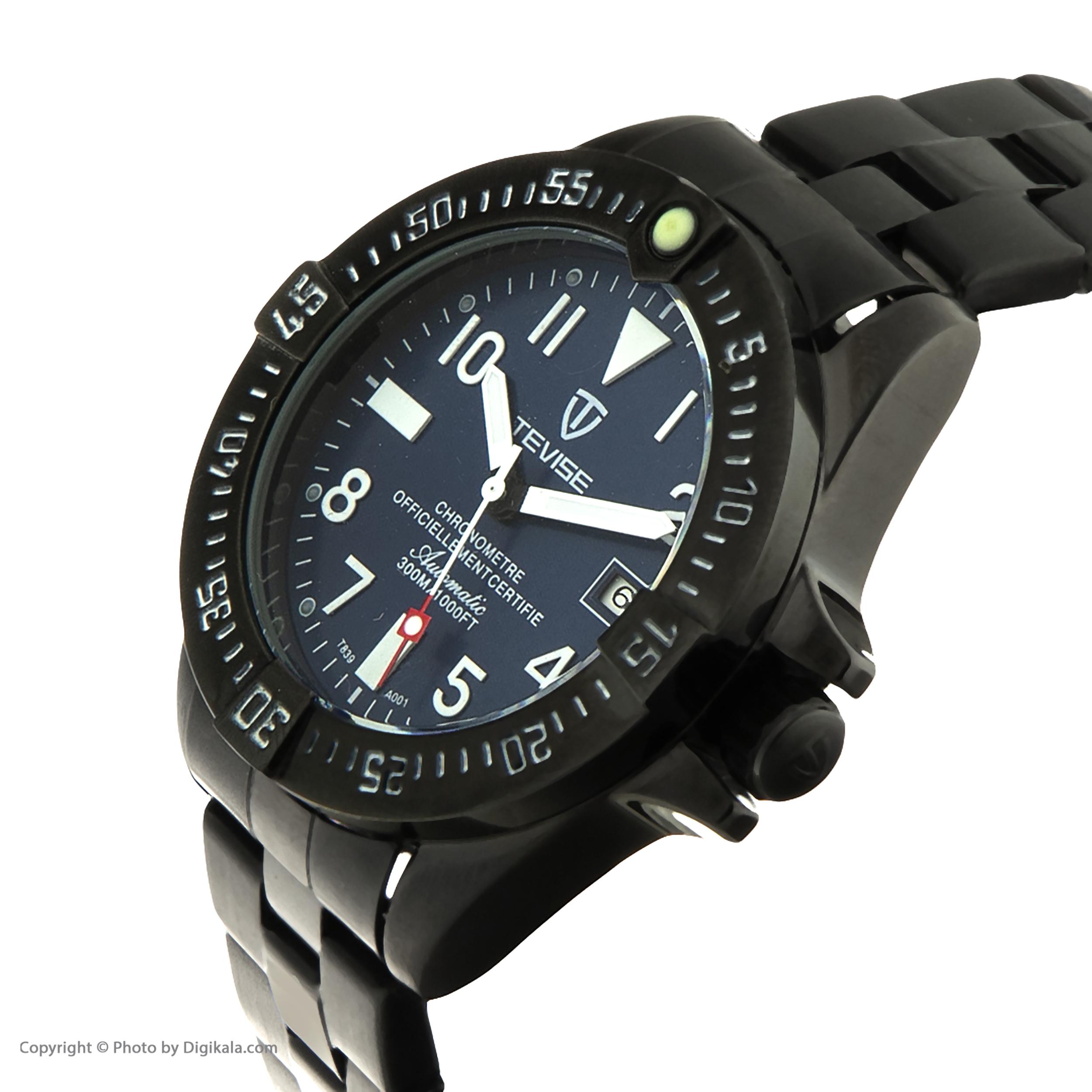 کد تخفیف                                      ساعت مچی عقربه ای مردانه تویس مدل T80 کد 1