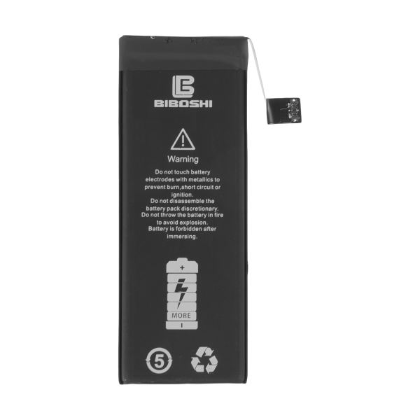 باتری موبایل بیبوشی مدل IP5SE ظرفیت 1624 میلی آمپر ساعت مناسب برای گوشی موبایل اپل IPhone 5SE