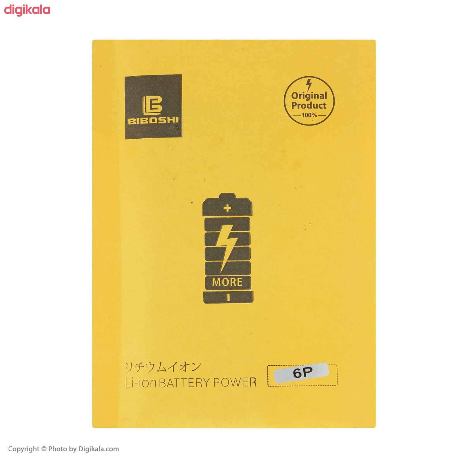 باتری موبایل بیبوشی مدل IP6P ظرفیت 2915 میلی آمپر ساعت مناسب برای گوشی موبایل اپل IPhone 6 Plus main 1 3