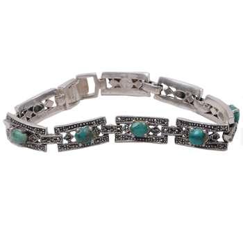 دستبند نقره زنانه کد DZ114