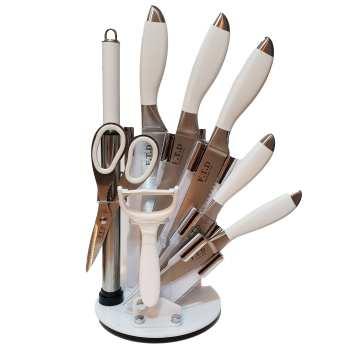 ست چاقوی 9 پارچه اف تی دی مدل KB کد 101
