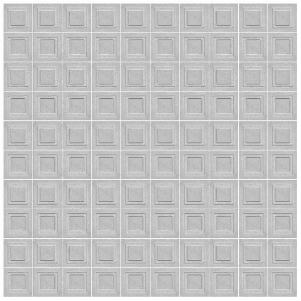 دیوارپوش تندیس و پیکره شهریار مدل آمای کد W1010-16 بسته 100 عددی