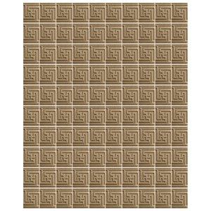 دیوارپوش تندیس و پیکره شهریار مدل آمای کد W1512-01 بسته 100 عددی