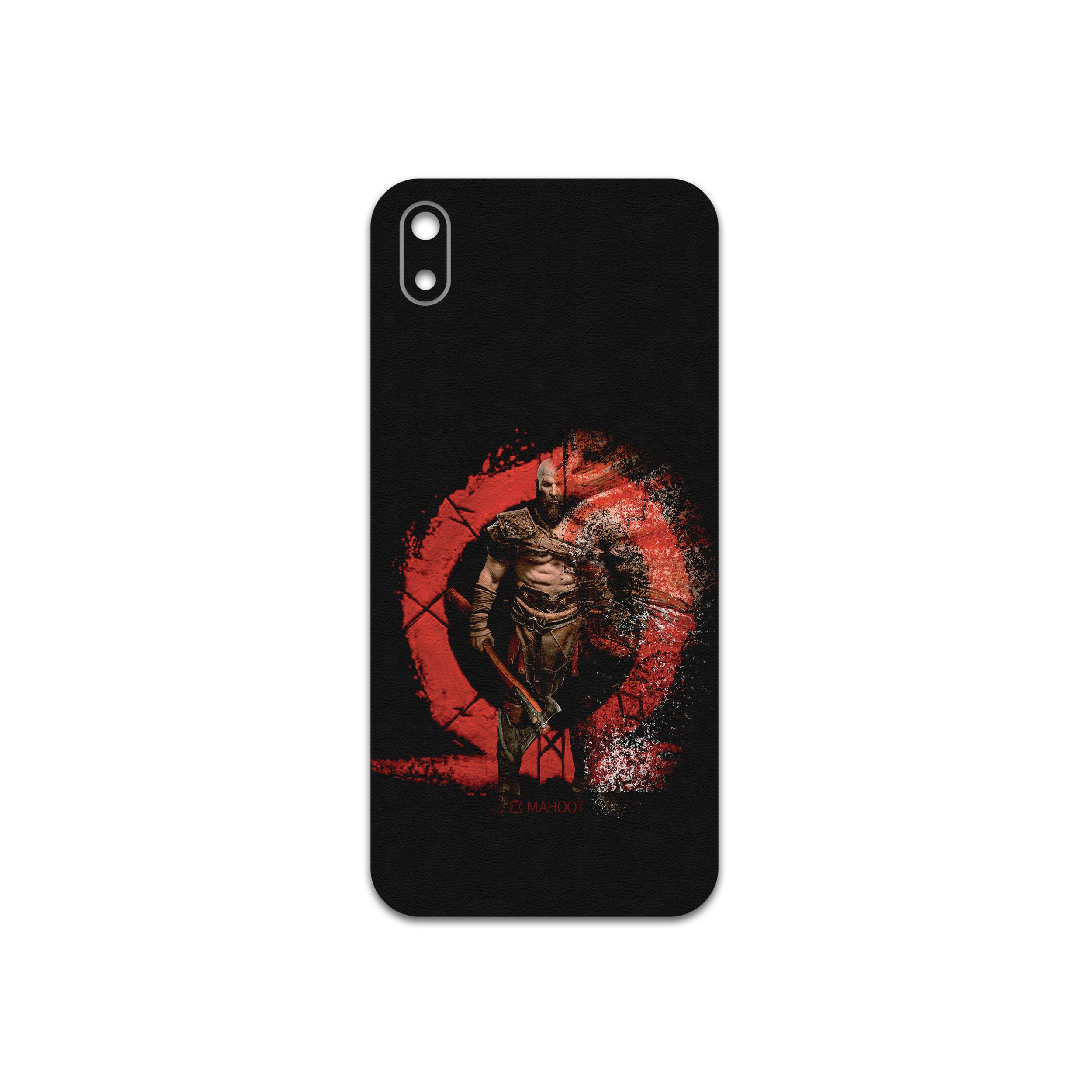 برچسب پوششی ماهوت مدل GOD-OF-WAR-Game مناسب برای گوشی موبایل هوآوی Y5 2019