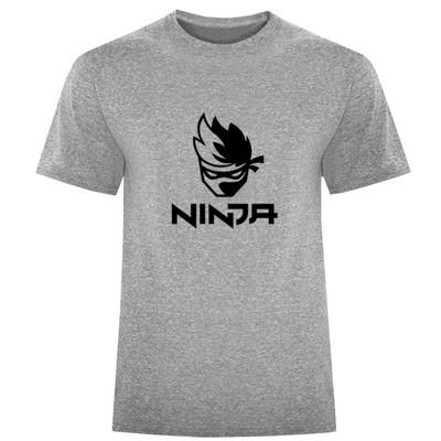 تصویر تیشرت آستین کوتاه مردانه طرح NINJA کد F189