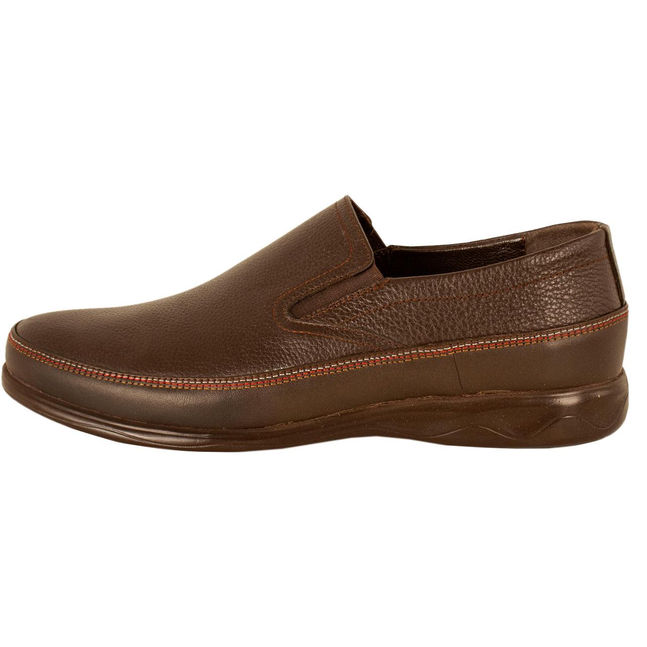کفش روزمره مردانه پارینه چرم مدل SHO195