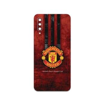 برچسب پوششی ماهوت مدل Manchester-United-FC مناسب برای گوشی موبایل سامسونگ Galaxy A50