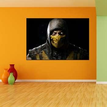 تابلو شاسی طرح Mortal Kombat مدل scorpion 402
