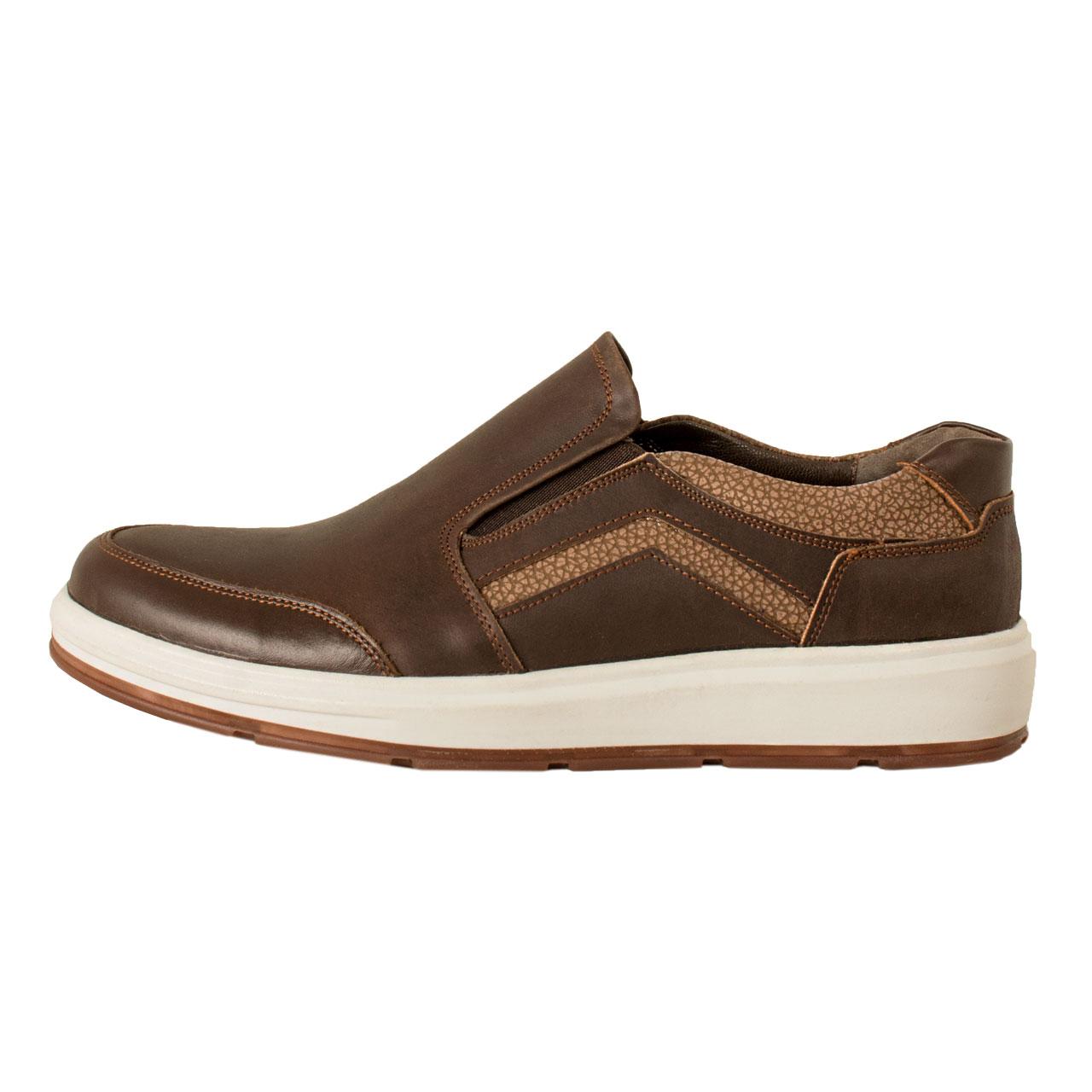 کفش روزمره مردانه پارینه چرم مدل SHO194-7