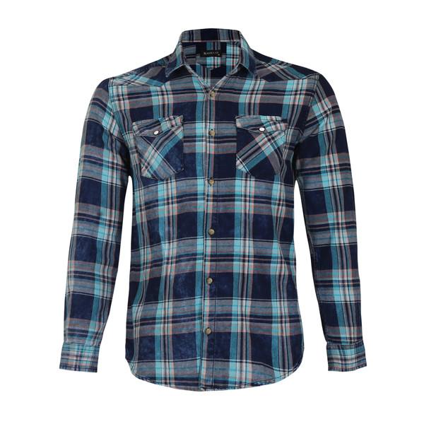 پیراهن مردانه ناوالس کد SlmF-2098-BL