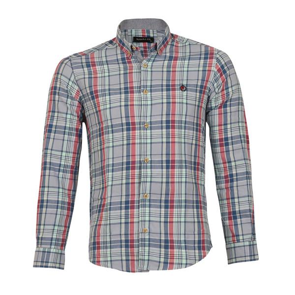 پیراهن مردانه ناوالس کد SlmF-2095-gy