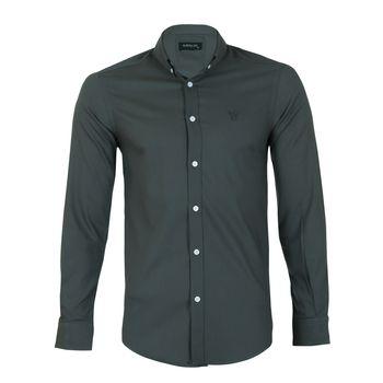 پیراهن مردانه ناوالس کد SlmF-20100-َArmy
