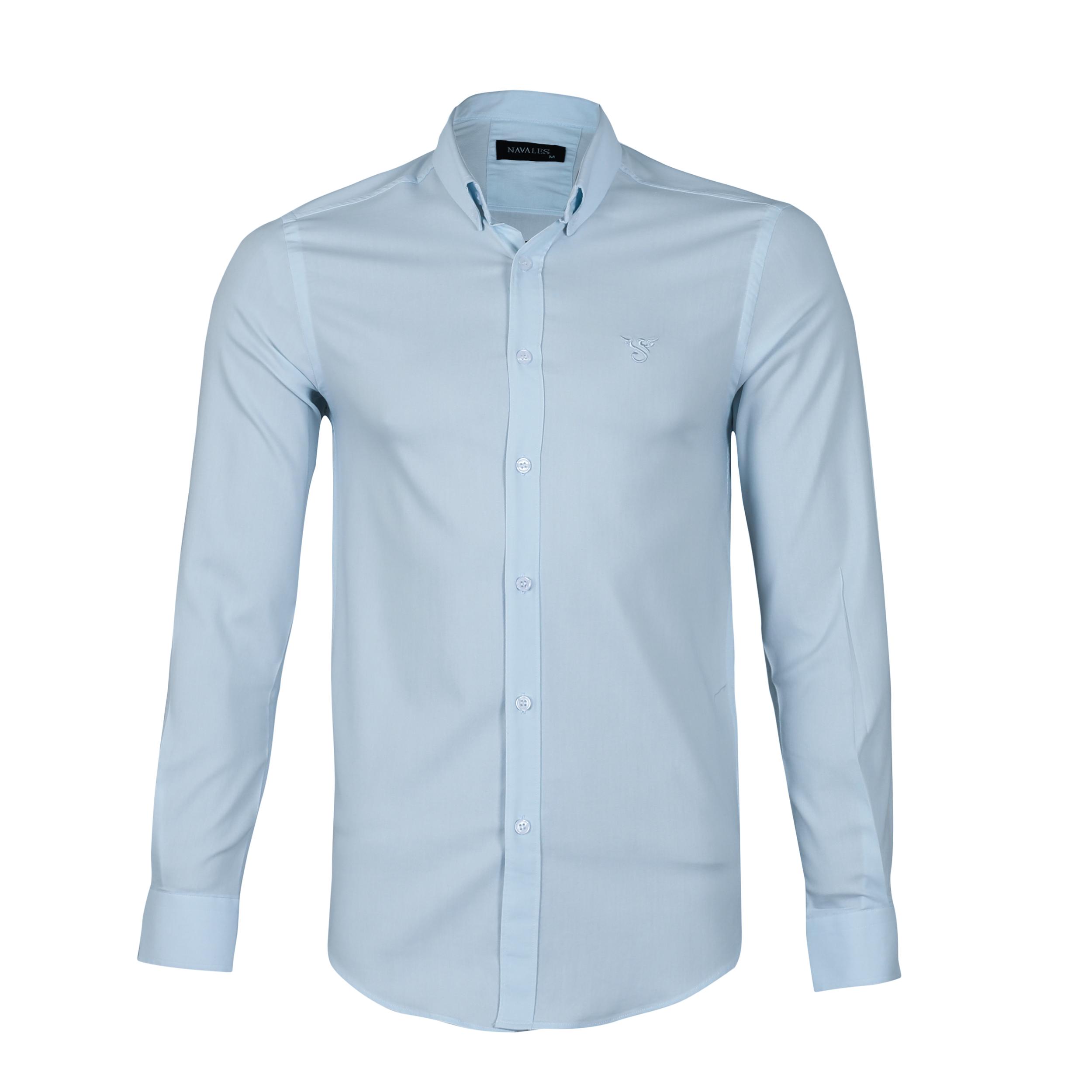 پیراهن مردانه ناوالس کد SlmFit-20100-lbl