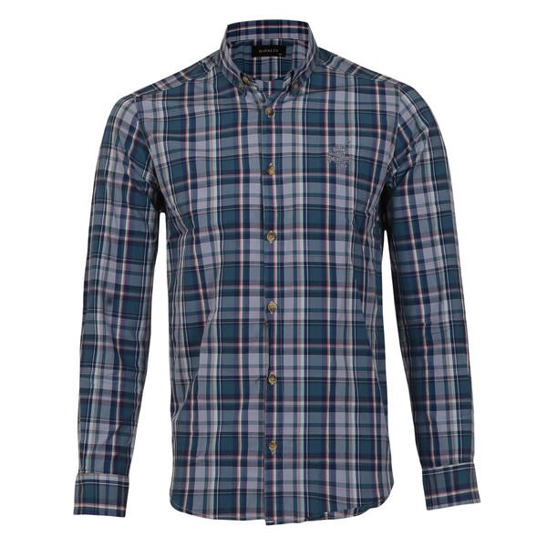 پیراهن مردانه ناوالس کد SlmFit-20100-bl