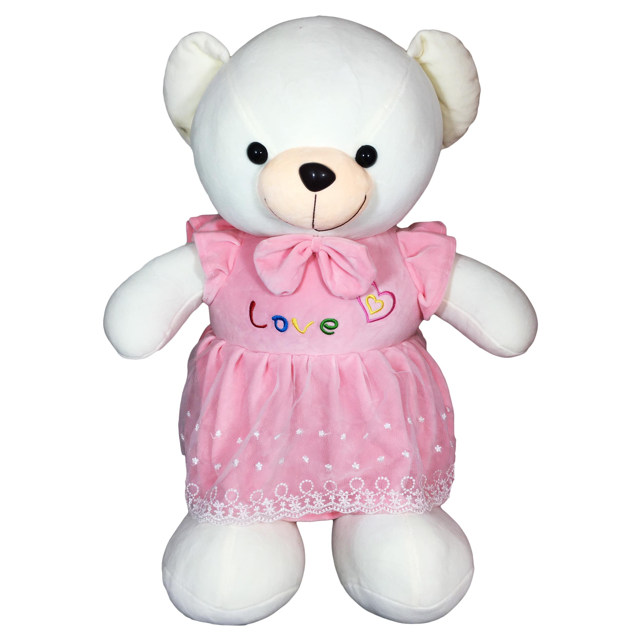 عروسک طرح خرس مدل papi2 ارتفاع 80 سانتی متر