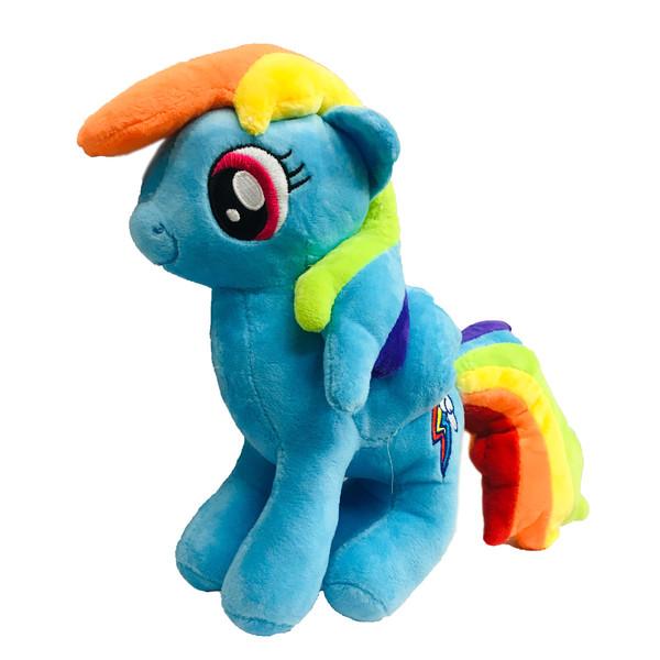 عروسک طرح اسب پونی کد 1 ارتفاع 20 سانتی متر