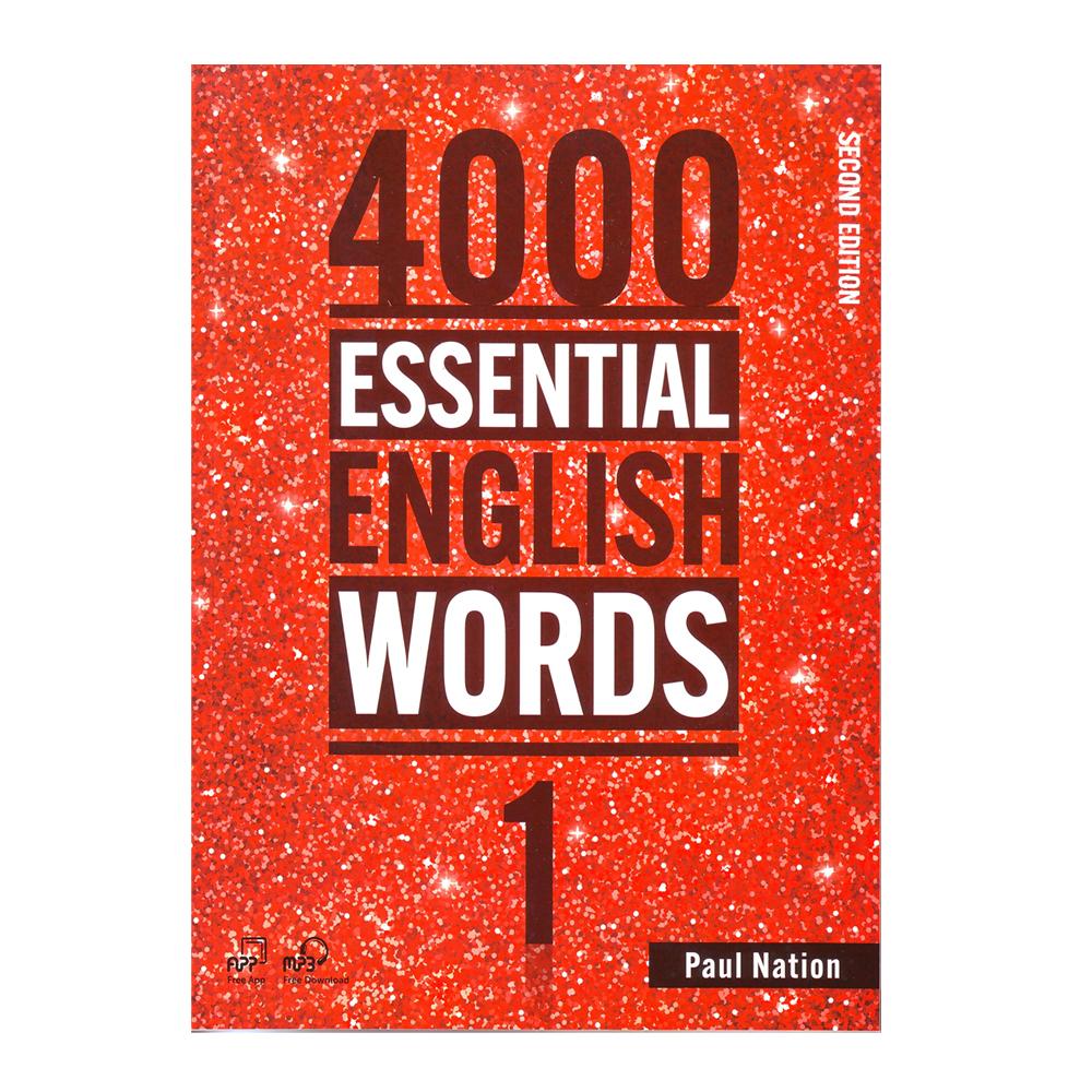 خرید                      کتاب 4000Essential English Words 1 اثر Paul Nation انتشارات Compas Publishing