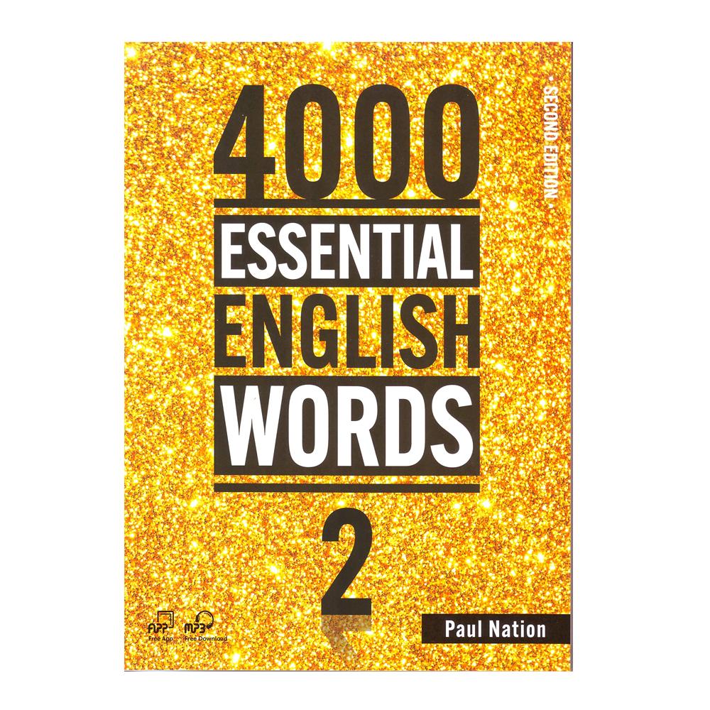 خرید                      کتاب 4000Essential English Words 2 اثر Paul Nation انتشارات Compas Publishing