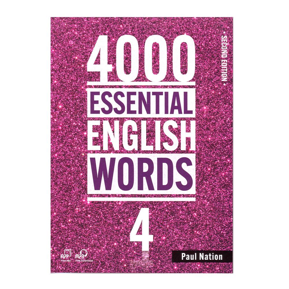 خرید                      کتاب 4000Essential English Words 4 اثر Paul Nation انتشارات Compas Publishing