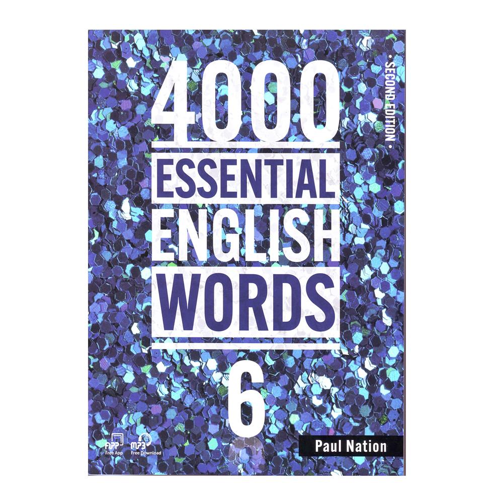 خرید                      کتاب 4000Essential English Words 6 اثر Paul Nation انتشارات Compas Publishing