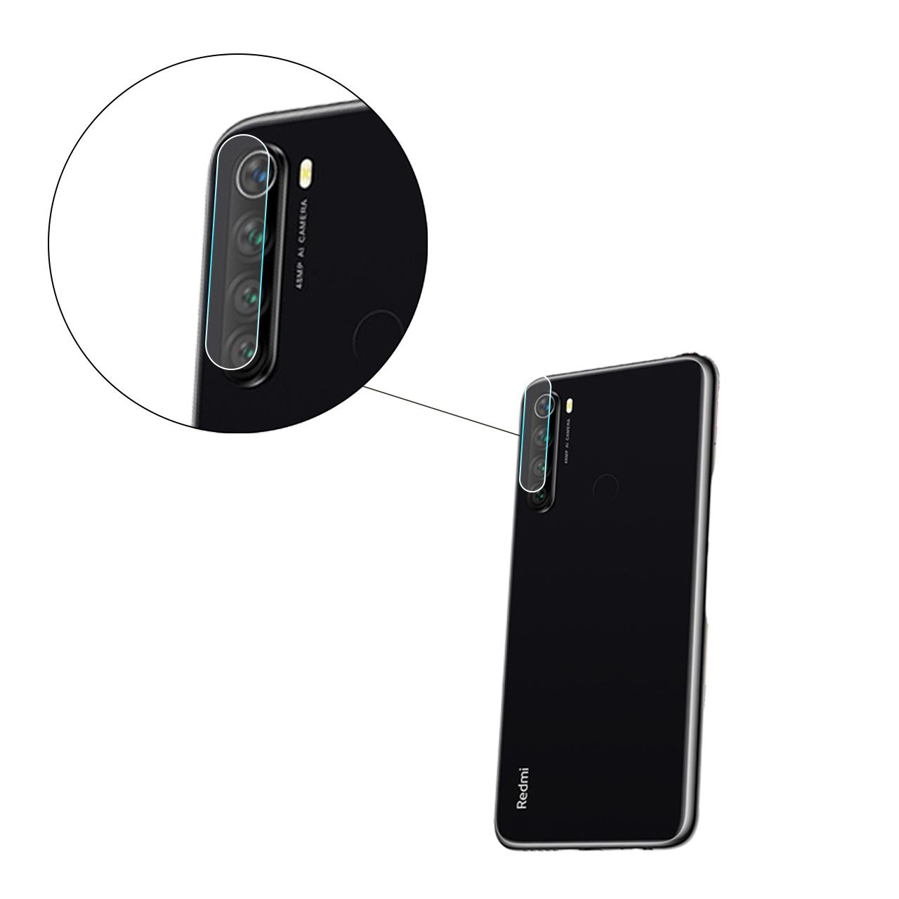 محافظ لنز دوربین مدل L039 مناسب برای گوشی موبایل شیائومی Redmi Note 8 main 1 2