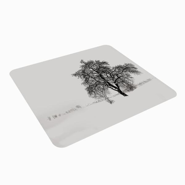 ماوس پد طرح درخت برفی مدل MP 0200