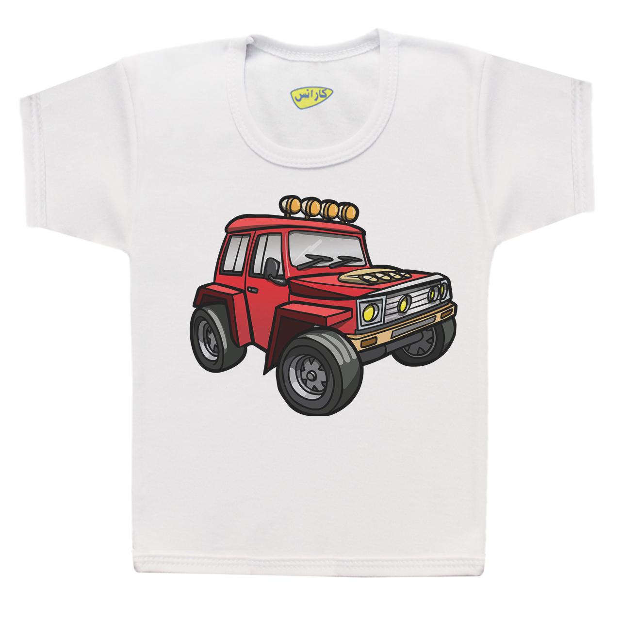 تی شرت پسرانه کارانس طرح آفرود مدل BT-247