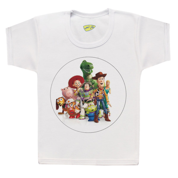 تی شرت پسرانه کارانس طرح داستان اسباب بازی مدل BT-261
